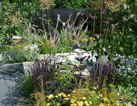 Hampton Court Palace Flower Show - the garden pad
